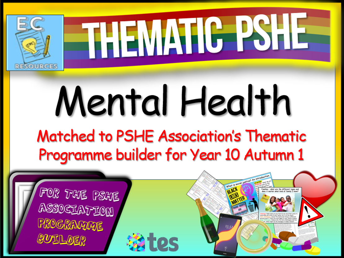 Thematic PSHE - Mental Health