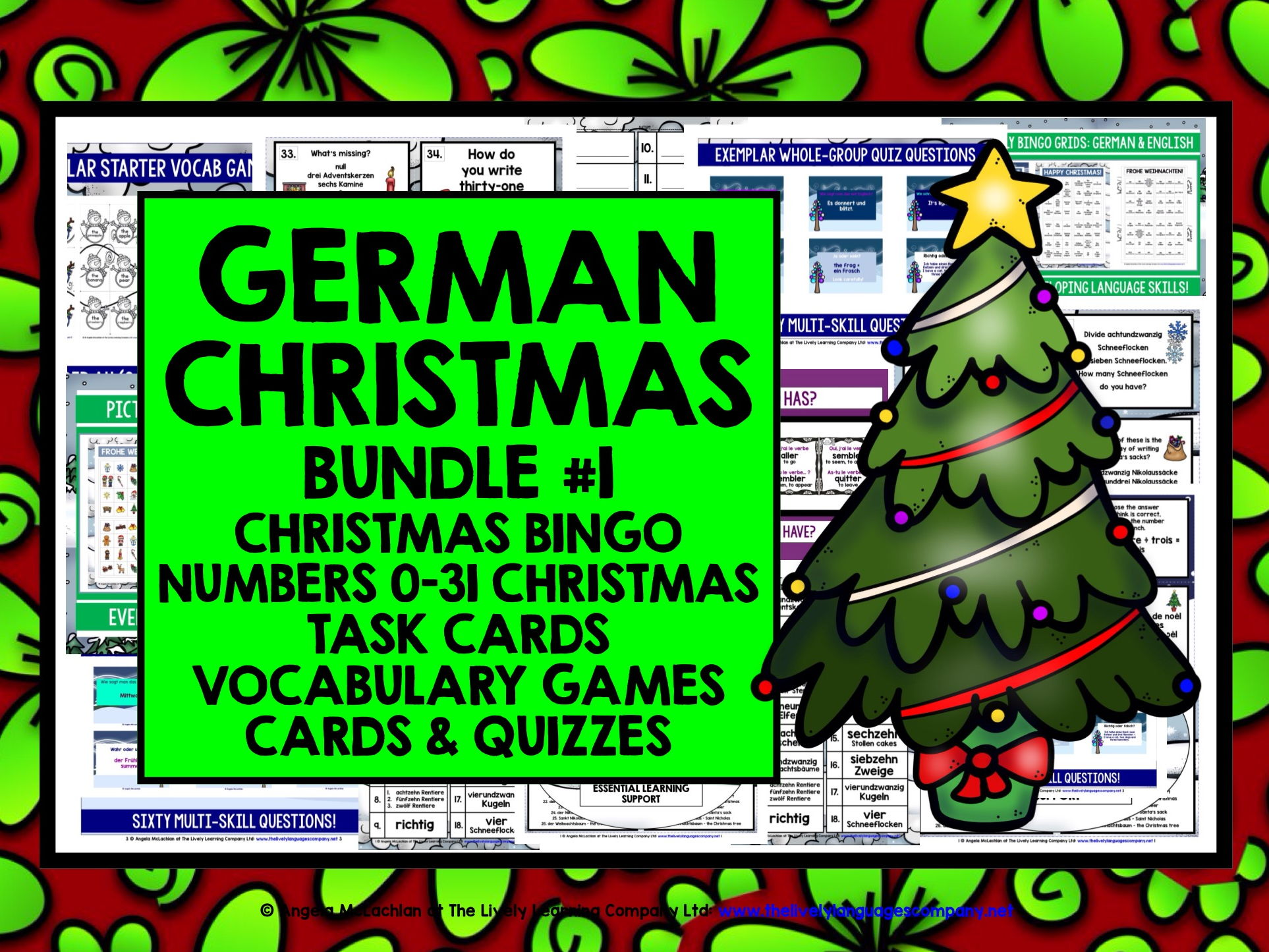GERMAN CHRISTMAS BUNDLE #1