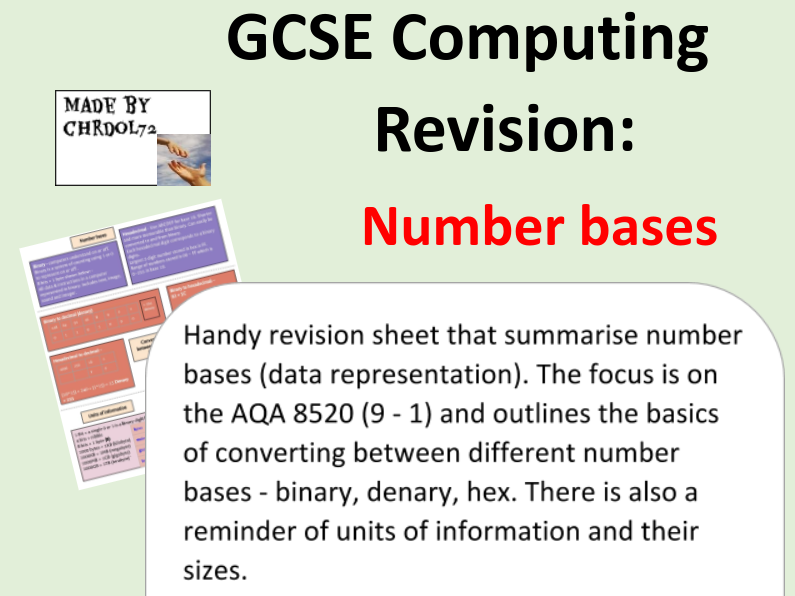 GCSE Computing Revision: Number bases