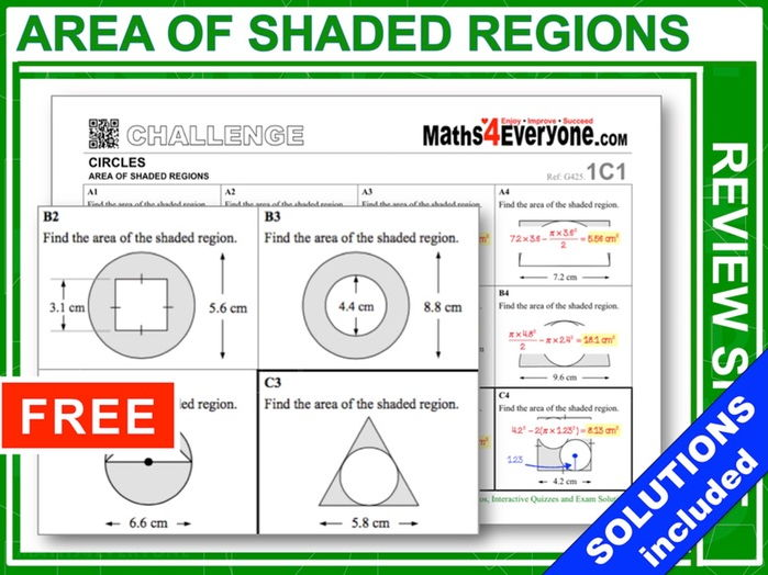 Shaded Areas (Topic Review)