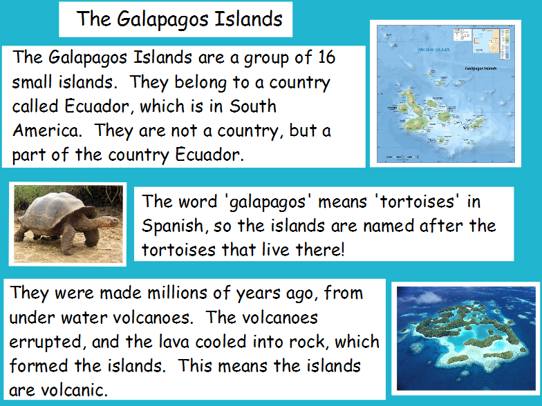 Galapagos Islands | Introduction Flipchart with Videos!