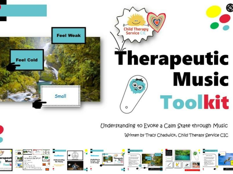 Bounce Back:  Music Therapy Toolkit (4 - 11yrs)