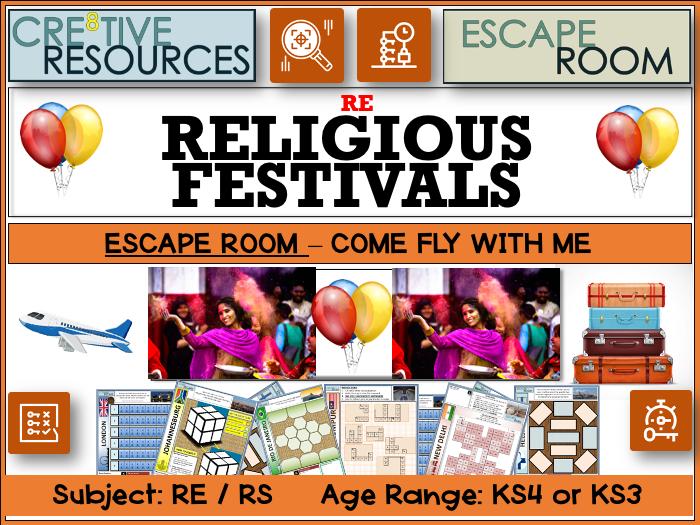Religious Festivals Escape Room