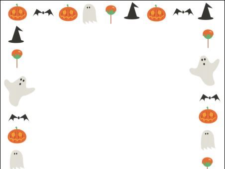 Halloween Writing Frame