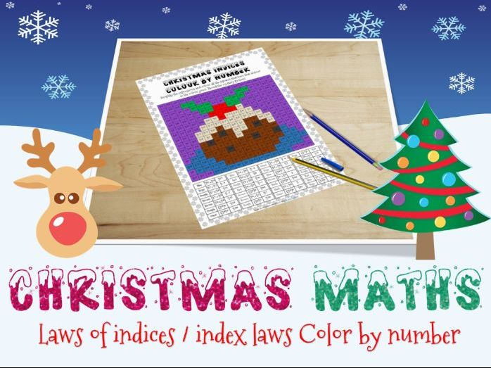 Christmas maths : Indices