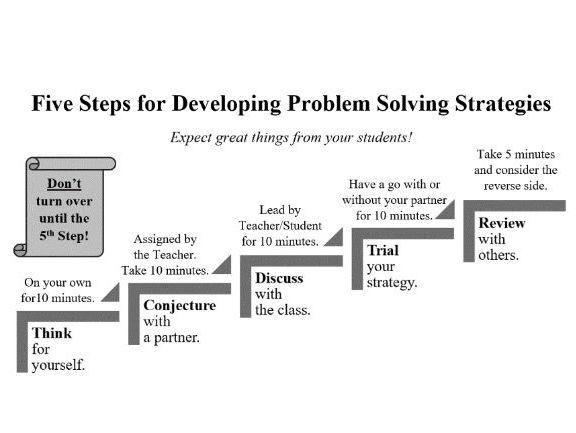 Five Step Problem Solving: Big factors