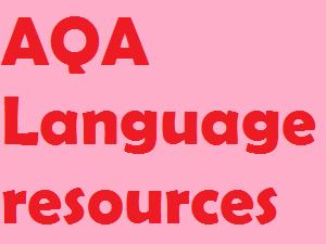 AQA Language Paper 1 bundle