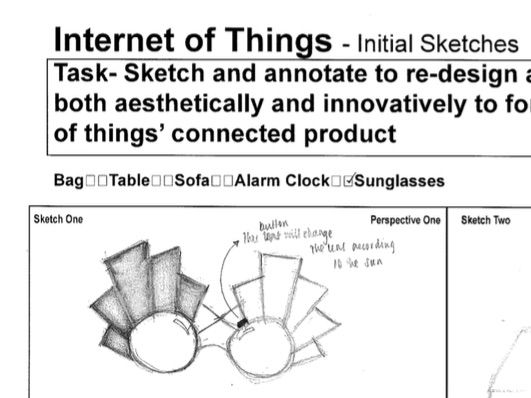 Product Design - Internet of Things