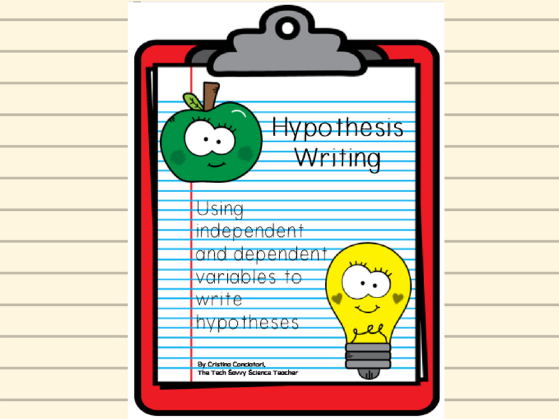 Hypothesis Writing Worksheet by TheTechSavvyScienceTeacher – Writing Hypothesis Worksheet