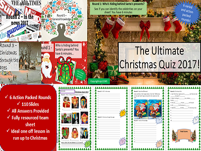 The Ultimate Christmas Quiz 2017