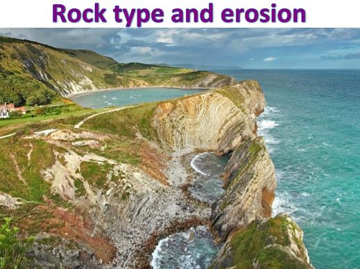 KS3 Coasts - Rock type and erosion