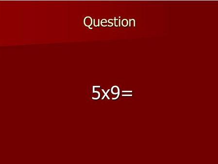 Bingo Multiplying 1d x 1d numbers