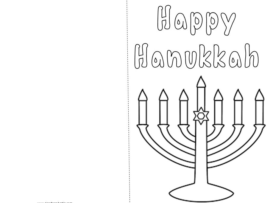 Happy Hanukkah Cards - Fun, Unique, Keepsakes