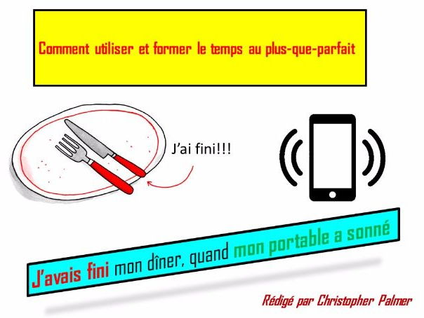 French: General lesson on the pluperfect tense