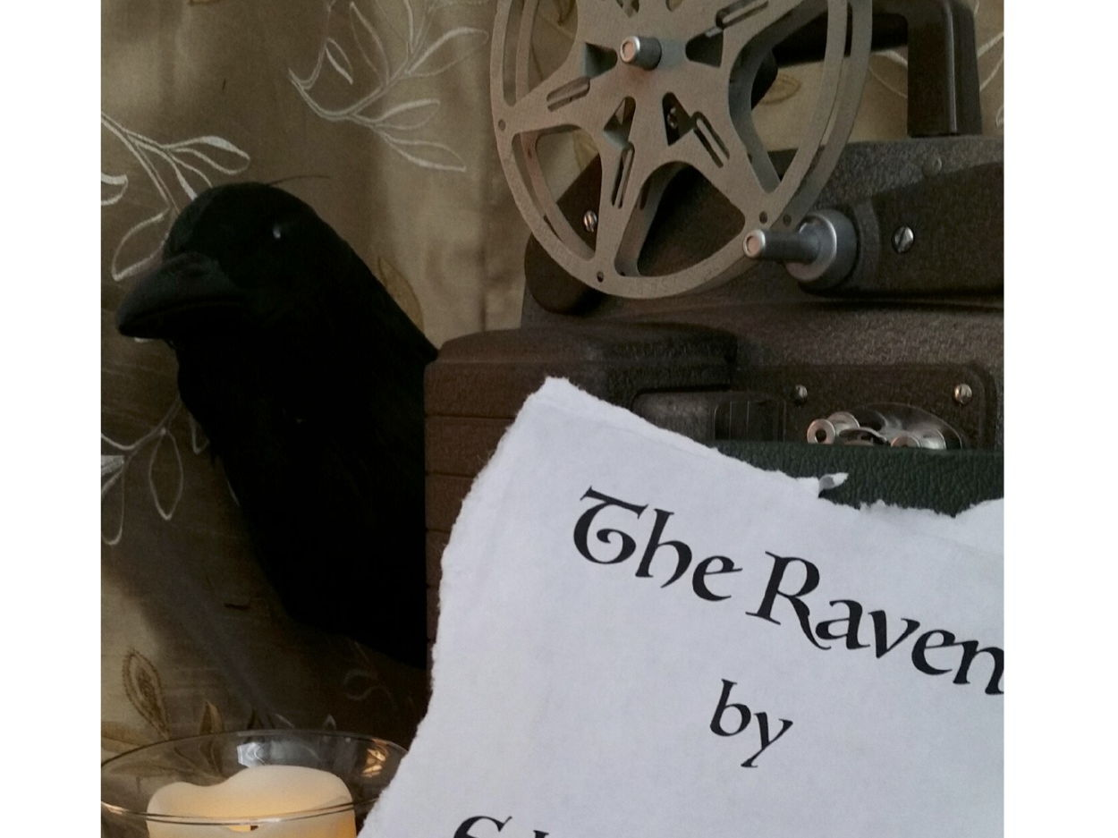 "Lights! Camera! Literature! Film  and Study Guide - Poe's ""The Raven"""