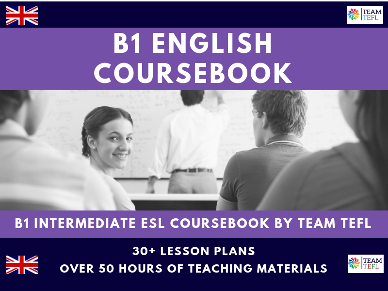 B1 Intermediate English Complete Coursebook For ESL