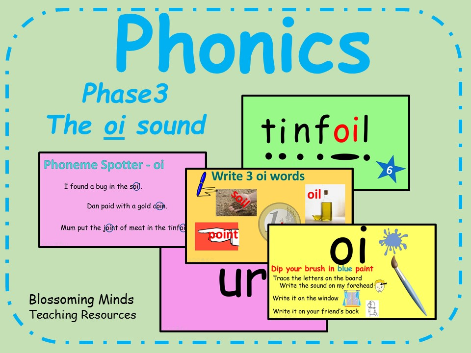 Phonics Phase 3 - The 'oi' sound