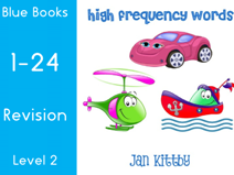 HIGH FREQUENCY WORDS  READING BOOKS  1-24