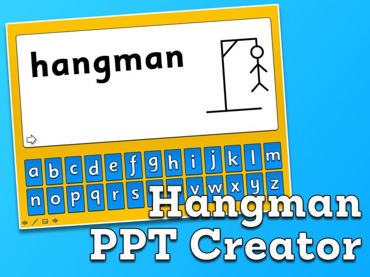 Hangman - Create your own for PowerPoint