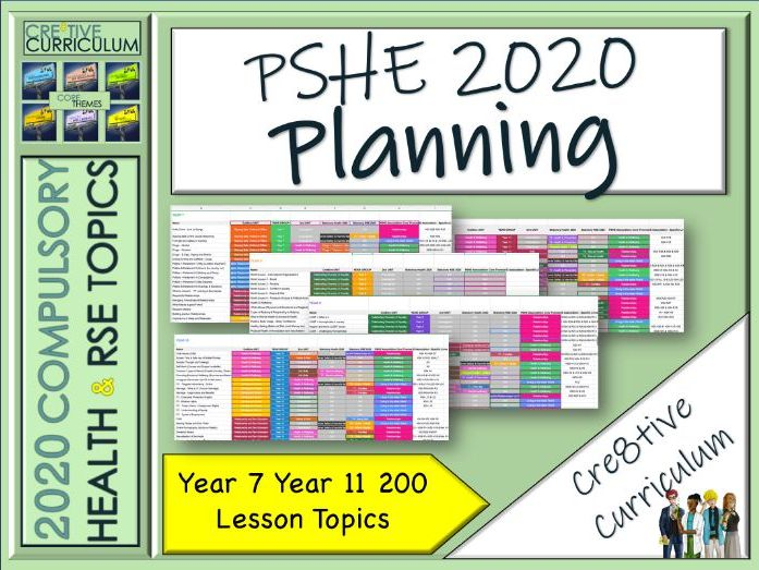 Planning PSHE