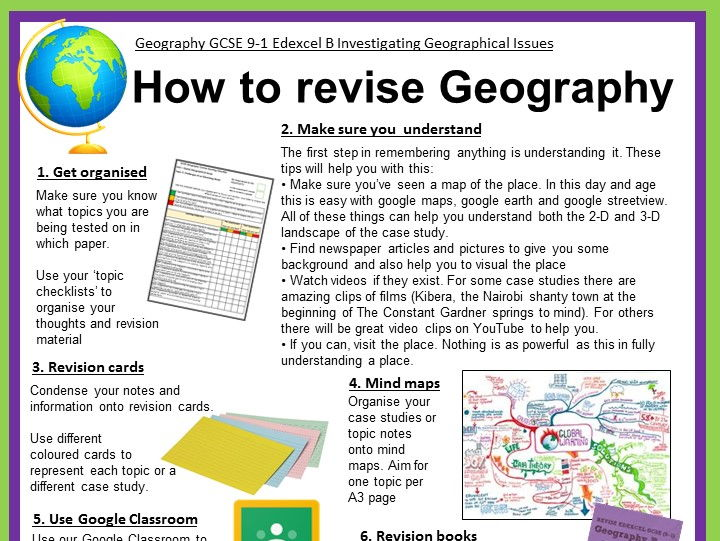 Geography coursework gcse help