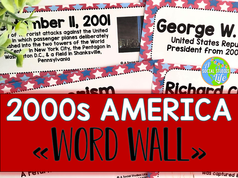 2000s America Word Wall