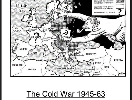 AQA A-Level History The Cold War Option C Y12 Essential Knowledge Booklet