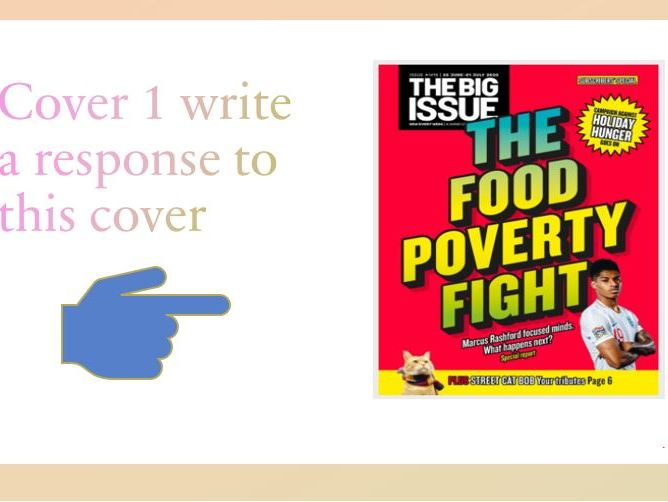 The Big Issue - exam practise and covers