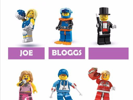 New term editable Lego Minifigure Coat Peg labels