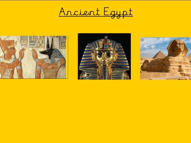 Ancient Egyptian Notebook units of work KS2