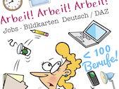 Deutsch / German: BERUFE / Jobs - Berufsbezeichnungen Bildkarten - Arbeit und Beruf DAZ / DAF