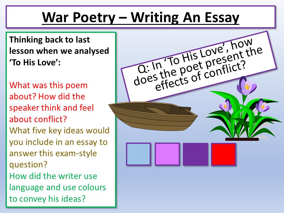 War Poetry Model Essay