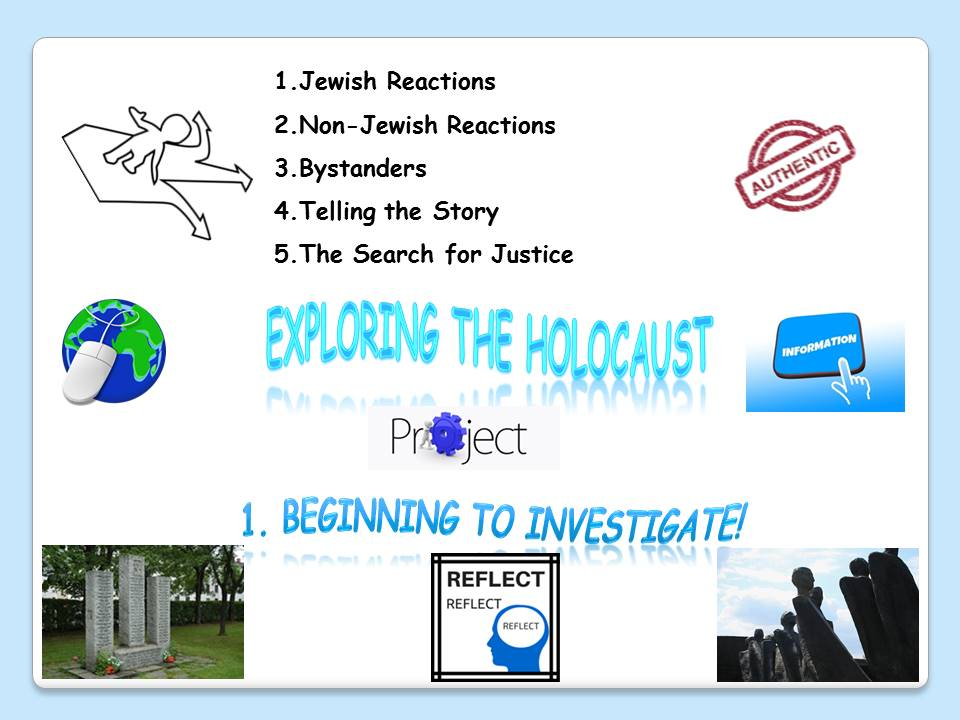 Exploring the Holocaust Project - 1. Beginning to investigate