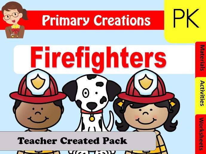 Firefighters Preschool and PreK Pack