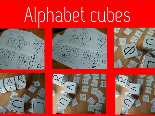MY ALPHABET CUBES