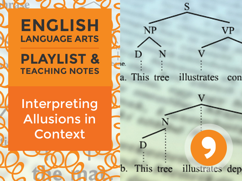 L.7.5.A Playlist: Interpreting Allusions in Context