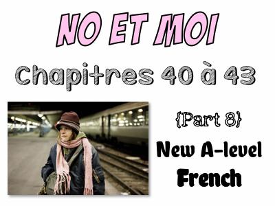 NO et MOI {Part 8} - Etude des chapitres 40 à 43