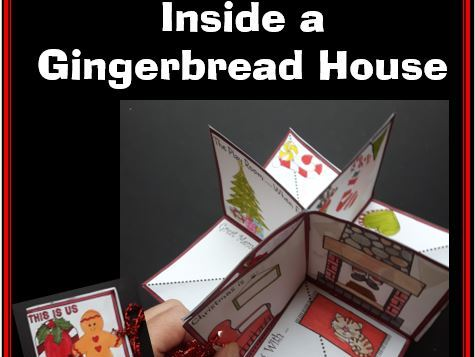 Christmas Crafts - Inside a Gingerbread House