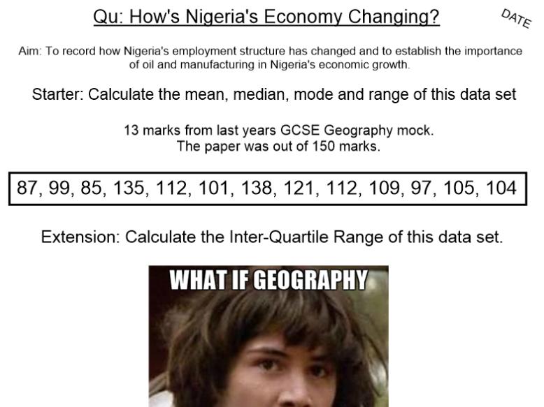 Nigeria's Changing Economy