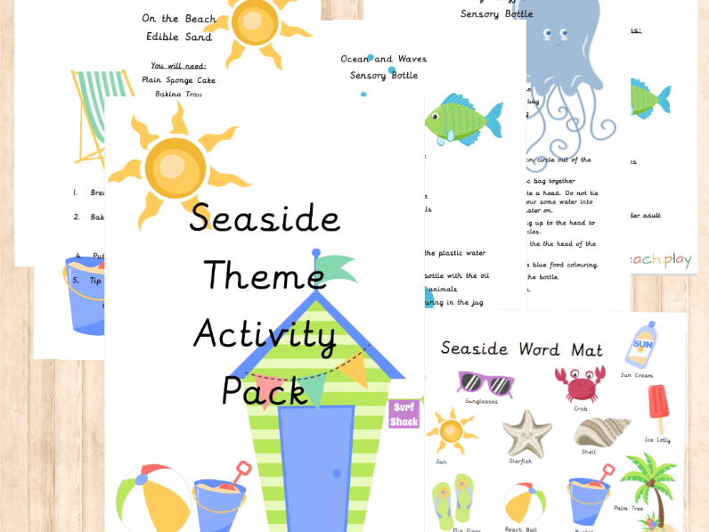 Seaside Theme Activity Pack