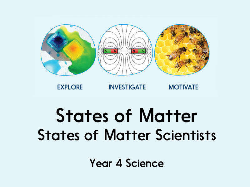 SCIENCE States of Matter Year 4 -5 lessons inc all resources