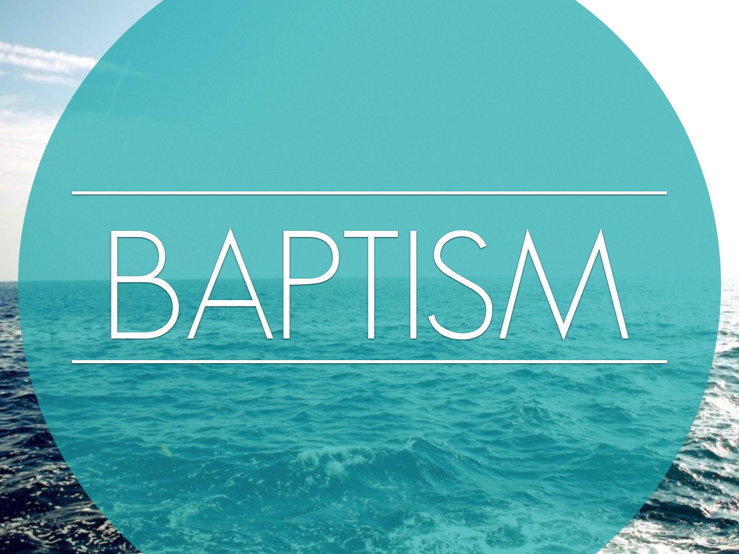 Y3 Come and See Planning Presentation- Baptism- Promises 2019