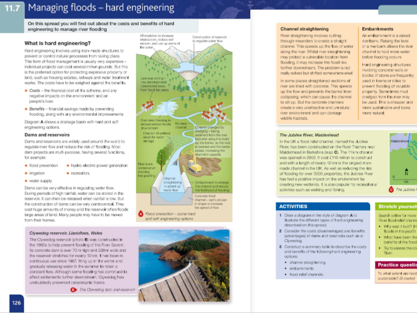 11.7-Managing floods- hard engineering