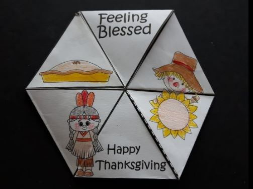Thanksgiving Crafts - 3D Fidget Spinners