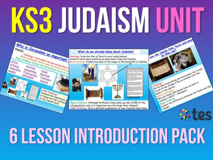 Judaism UNIT