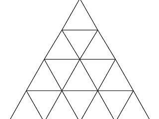 Two Tarsia triangle puzzles in German on School and Countries for KS3