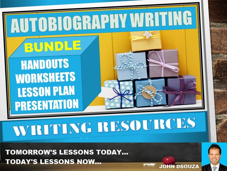 AUTOBIOGRAPHY WRITING BUNDLE