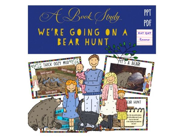We're Going On A Bear Hunt Book Study