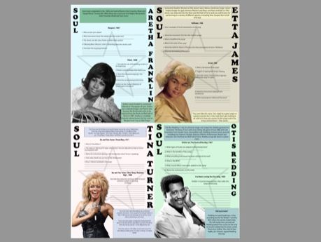 Soul Music Questions and Answers GCSE and A-LEVEL