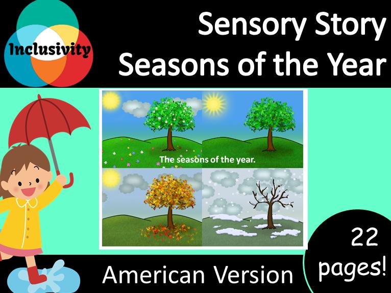 Sensory Story; Seasons of the Year - American Version